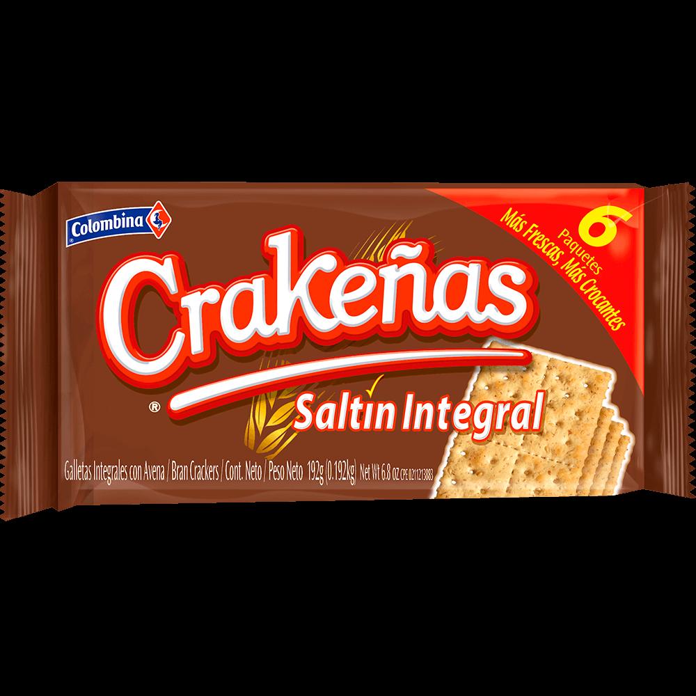 Crakeñas Saltín Integral 192 g