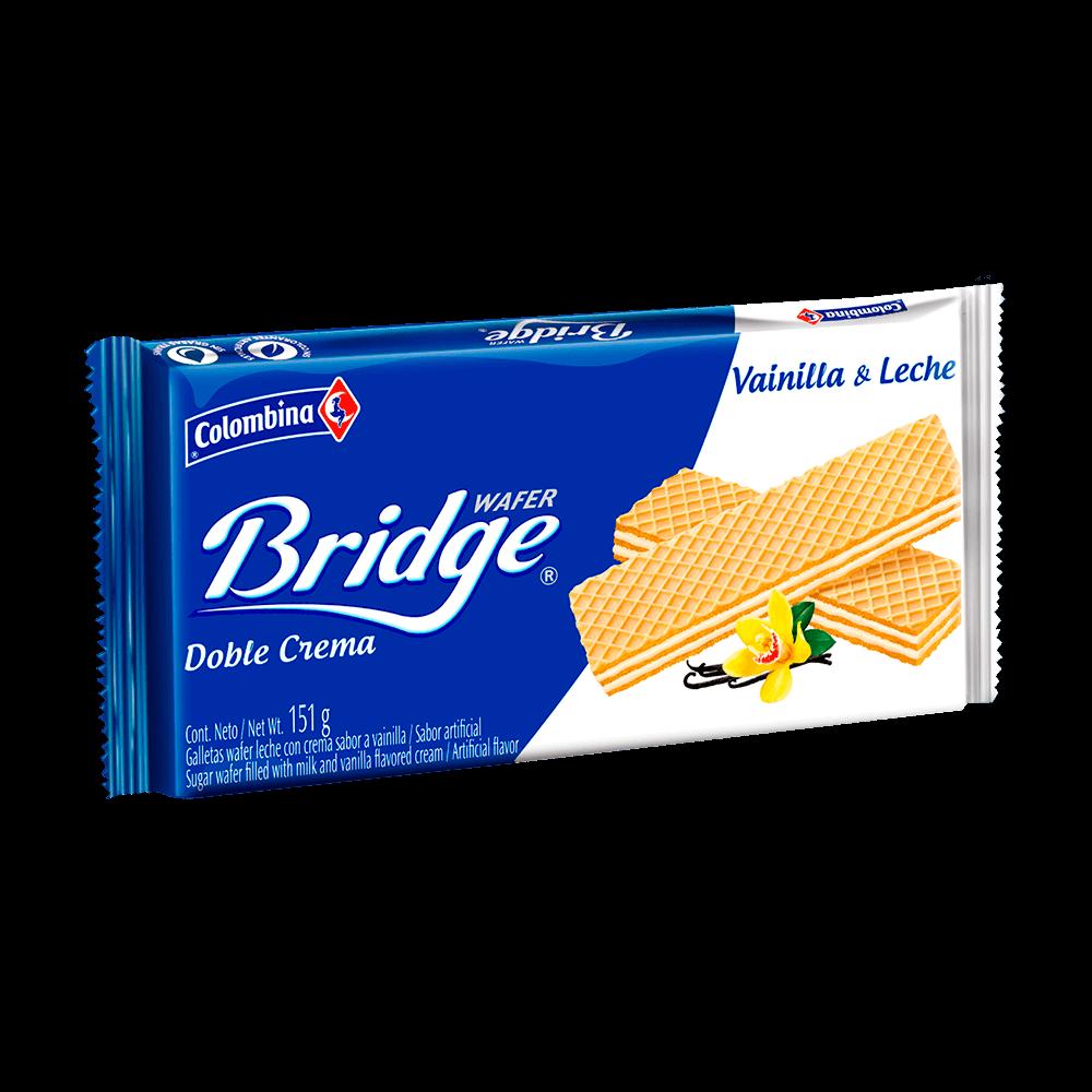 Bridge Taco Leche Vainilla 151 g