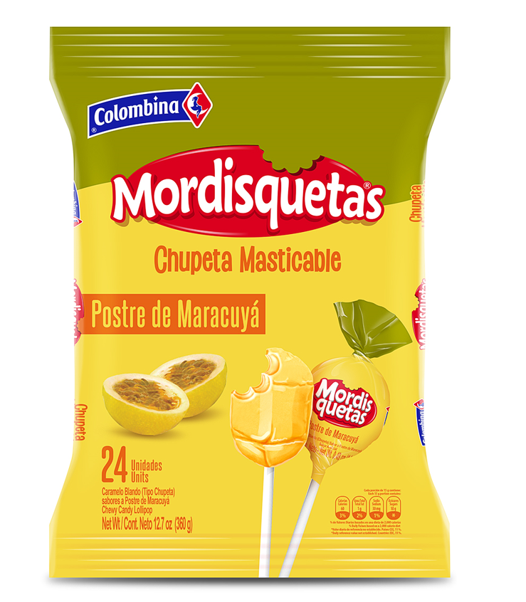 Mordisquetas Maracuyá 360 g