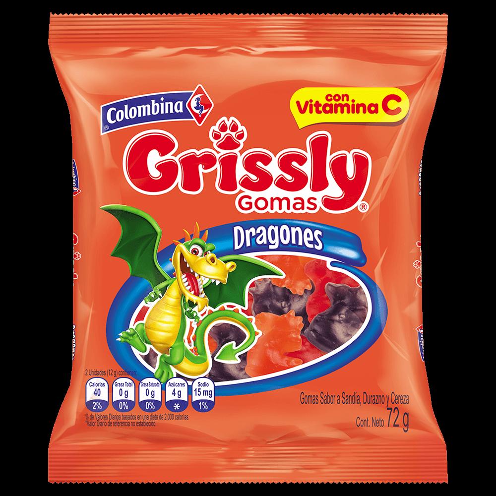 Grissly Dragones 72g