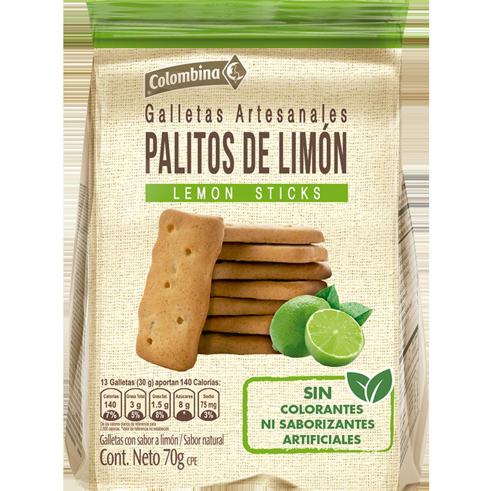 Colombina Palitos de Limón 70 g