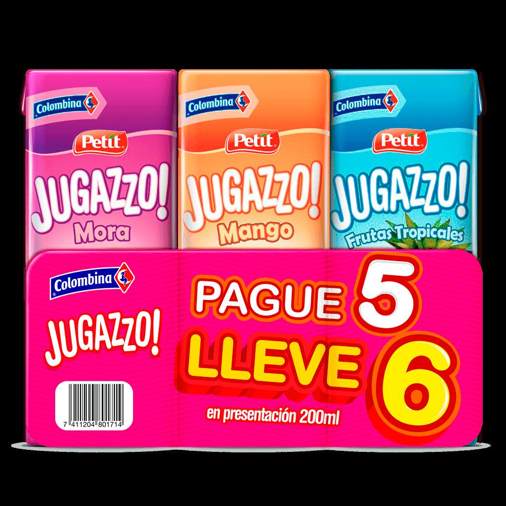Jugazzo Six Pack P5 LL6 200 m
