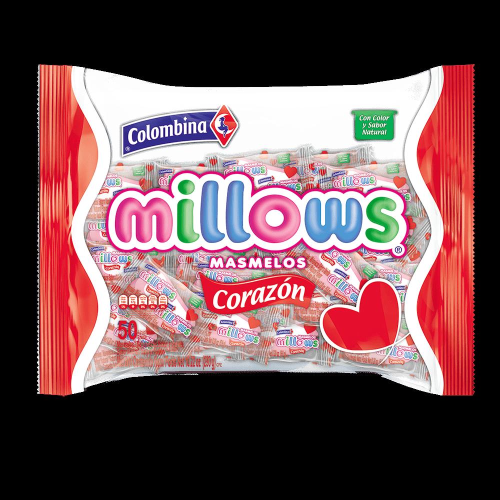Millows Corazón 50 uds.