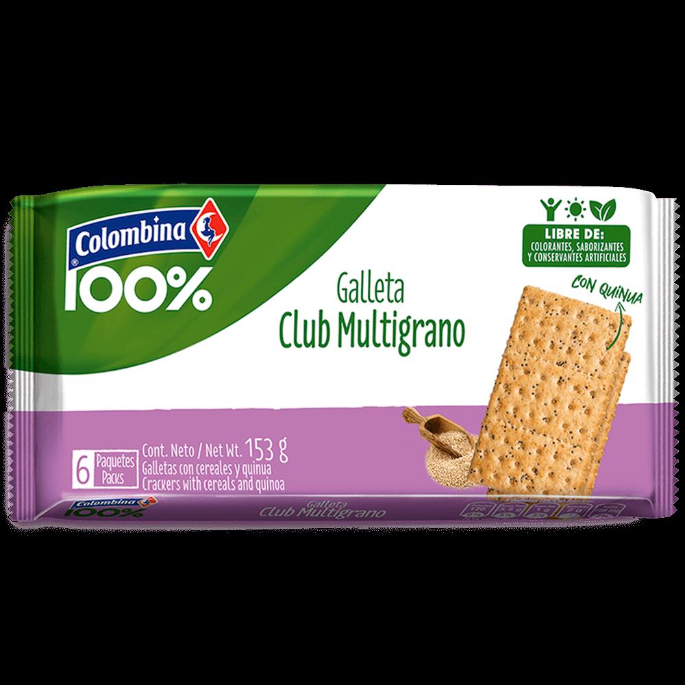 Galleta Club Multigrano 6 uds